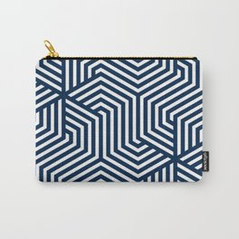 Oxford blue - blue - Minimal Vector Seamless Pattern Carry-All Pouch