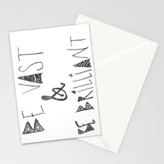 Be Vast and Brilliant Stationery Cards