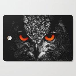 Fire eyes owl Cutting Board