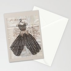 Fancy Dress on French Ephemera Stationery Cards