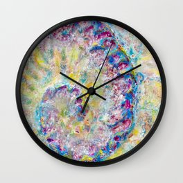 Way for freedom Wall Clock