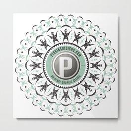 Perkins Designs Metal Print
