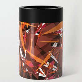 red & spiky Can Cooler