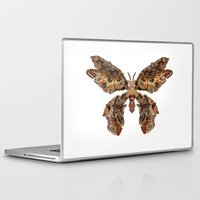 moth Laptop & iPad Skins featuring moth by Marie Lisborg