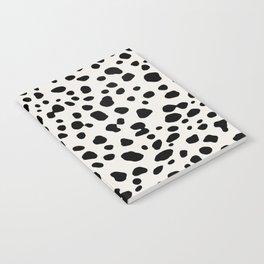 Polka Dots Dalmatian Spots Notebook