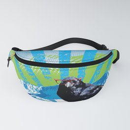 Raven on the Rise by Crow Creek Coolture Fanny Pack