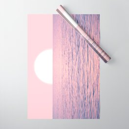 Pink on the Sea Wrapping Paper