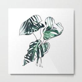 leaf flower Metal Print