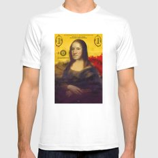 Bitch Better Have My Money MEDIUM Mens Fitted Tee White