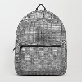 Canvas texture fashion design Backpack