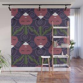 Cute radish Wall Mural