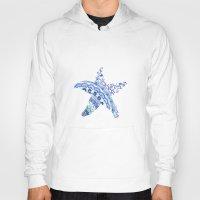 starfish Hoodies featuring Starfish by SaltyHues