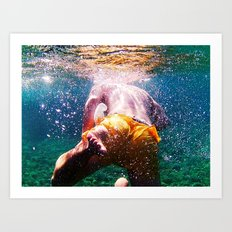 Into The Deep Art Print