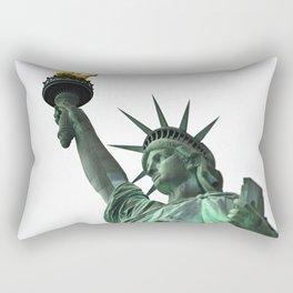 The Torch Bearer Rectangular Pillow