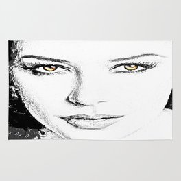 Face- Catherine Zeta Jones Rug