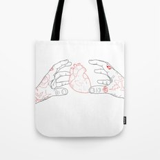 You're grabbing my heart Tote Bag