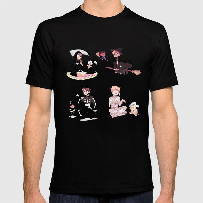 vocal line + bt21 halloween! T shirt by randomsplashes