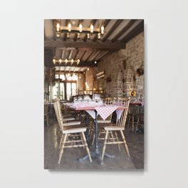 Eat Well Travel Often II Metal Print
