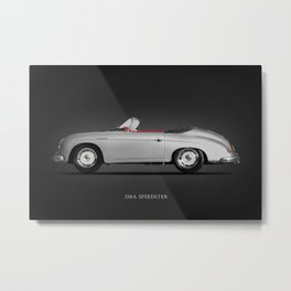 The 356 Speedster Metal Print