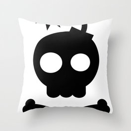 Head Bang! Throw Pillow