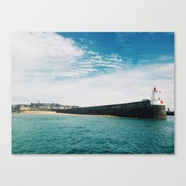 Lighthouse Brittany Canvas Print