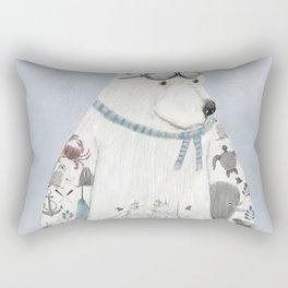 the arctic explorer Rectangular Pillow