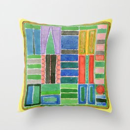 Lift To The Second Floor  Throw Pillow