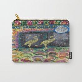 Golden Crane Carry-All Pouch