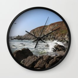 Bodega Bay Beach, Sonoma County, California Wall Clock