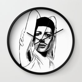 Loving yourself is a radical act Wall Clock