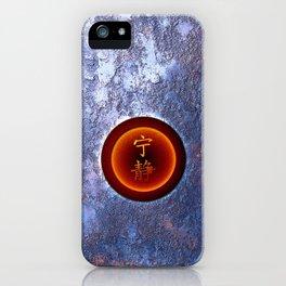 Iron Serenity iPhone Case