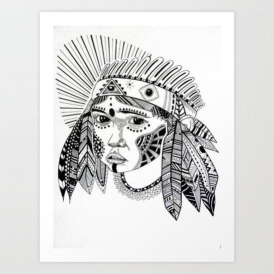 KIENKE. Art Print