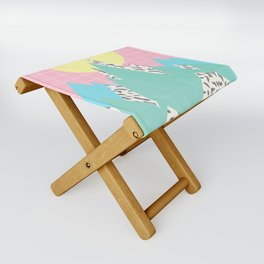 Memphis Mountains Folding Stool