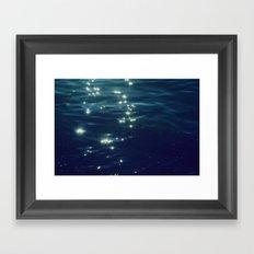 Montauk Harbor Framed Art Print
