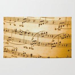 Music Sheet Rug