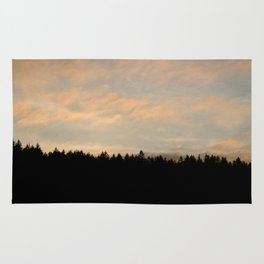 Forest Silhouette Rug
