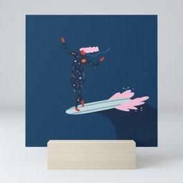 My sacred space Mini Art Print