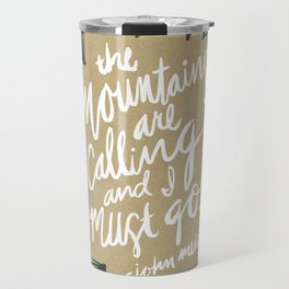 Mountains Calling – Kraft Travel Mug