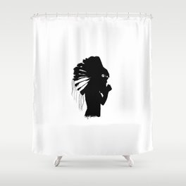 Gone Native Shower Curtain