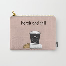 Karak and Chill Carry-All Pouch