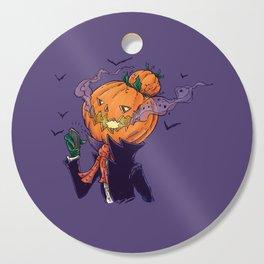 The Pumpkin Bun Cutting Board