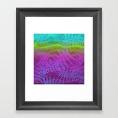 candy breeze Framed Art Print