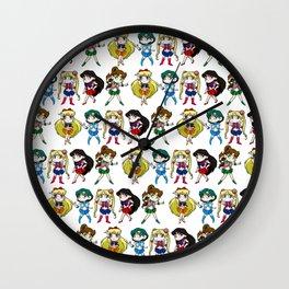 Sailor Senshi Wall Clock