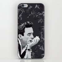 johnny cash iPhone & iPod Skins featuring Johnny Cash by Iany Trisuzzi