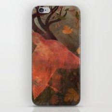 Monarch of Autumn iPhone Skin