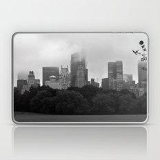 fog in city... Laptop & iPad Skin