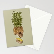 Pineapple Skull Stationery Cards