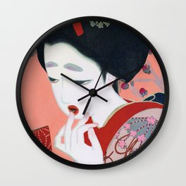 Kitano Tsunetomi - Lipstick - Digital Remastered Edition Wall Clock