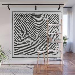 Fingerprint 2 Wall Mural
