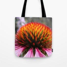 Lavender Echinacea/Coneflower Tote Bag